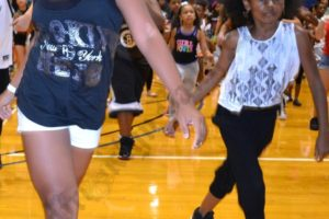 500 kids packed the LIU gym to audition for the Brooklyn Nets Kids Dance Team. - Brooklyn Archive