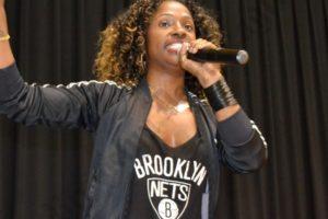 Celebrity choreographer Tanisha Scott. - Brooklyn Archive