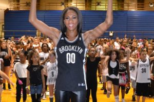 Members of the Brooklynettes were on hand to help out during auditions. - Brooklyn Archive