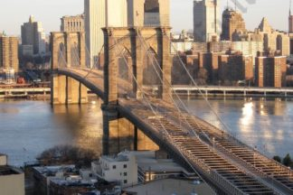 Aerial View of the Brooklyn Bridge 03/23/2008 - Brooklyn Archive