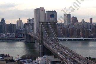 Aerial View of the Brooklyn Bridge 03/24/2008 - Brooklyn Archive