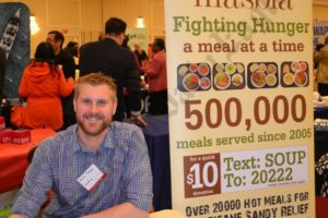 Beau Heyen, chief development officer of Masbia, a nonprofit soup kitchen and food pantry network in Brooklyn and New York City. - Brooklyn Archive