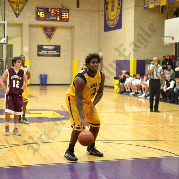 Bishop Loughlin vs. Fordham Basketball Game 01/05/2014 ...