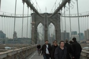 Brooklyn Bridge Crowds - Brooklyn Archive