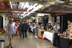Brooklyn Eats, Brooklyn's premier food and beverage trade show, was held at 630 Flushing Avenue on June 27, 2014. - Brooklyn Archive
