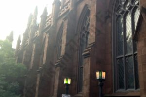 Church of St. Ann and the Holy Trinity at 157 Montague Street. - Brooklyn Archive