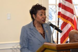 Congressmember Yvette D. Clarke. - Brooklyn Archive