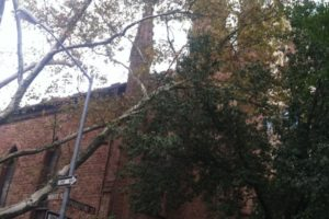 First Unitarian Church the day before hurricane Sandy.