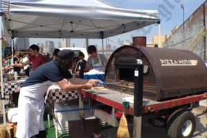 Have pizza oven, will travel. - Brooklyn Archive