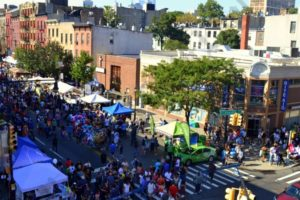 Hundreds of thousands flocked to Brooklyn's Atlantic Avenue for the mile-long street festival, the Atlantic Antic, which celebrated its 40th anniversary on Sunday. - Brooklyn Archive