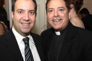 Carlo Scissura and Monsignor Jaime Gigantiello.