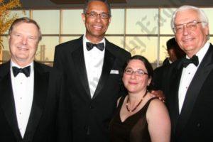 Jonathan Weld, Rudy Wynter, Ellen Wynter, and Barclay Collins. - Brooklyn Archive