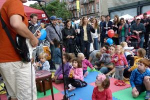 Kids at the 2012 Atlantic Antic. - Brooklyn Archive