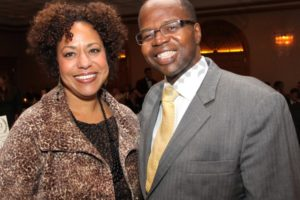 Lisa Bing and Ken Thompson. - Brooklyn Archive