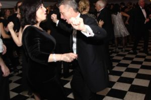 Peter Meyer and Denise Arbesu dancing. - Brooklyn Archive