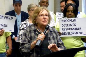 Pier 6 Empire State Development Hearing 07/30/2015 - Brooklyn Archive