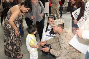 Sixth Communication Battalion Homecoming 04/14/2012