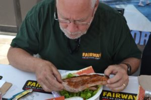 Steve Jenkins from Fairway was one of the judges. - Brooklyn Archive