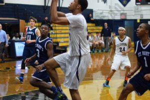 Xaverian vs. St. Mary's Basketball Game 01/11/2015 - Brooklyn Archive