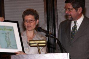 Deborah Schwartz and Steve Hindy. - Brooklyn Archive
