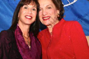 Gail Prudenti and Judith Kaye. - Brooklyn Archive