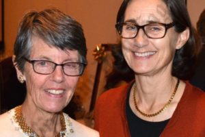 Jill Gilbert and Lisa Bidell. - Brooklyn Archive