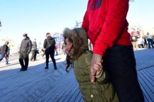 New Year's Day Coney Island Polar Bear Swim 2017 - Brooklyn Archive