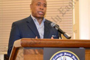 Borough President Eric Adams. - Brooklyn Archive