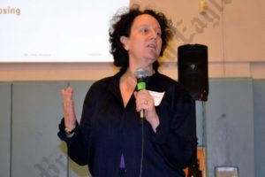 CB2 member Claire Weisz. - Brooklyn Archive