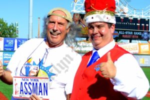 "Kenny Kramer, ""The Real Kramer,"" with the King. - Brooklyn Archive"