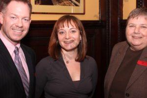 Randy Peers, Melinda Morris, and Irene Lore. - Brooklyn Archive