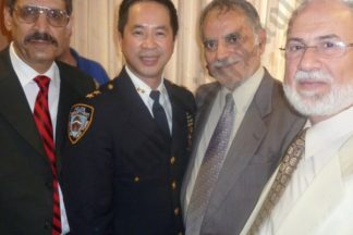 Reception for the New NYPD Brooklyn South Chief 08/17/2011
