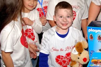 Sharing the Love at Our Lady of Grace Catholic Academy 02/03/2017 - Brooklyn Archive