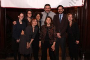 The Board of Trustees: Sarah Murphy, Rebecca Welch, Melinda Morris, Lauri Schindler, Michael Cairl, Nelly Isaacson, Josh Levin and Judith Lief. - Brooklyn Archive