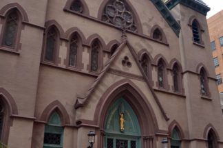 The Oratory Church of Saint Boniface at 109 Willoughby Street - Brooklyn Archive
