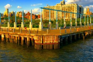 Ferry Ride at Sunset From Bay Ridge to DUMBO 06/01/2017 - Brooklyn Archive