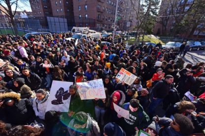 School Walk Out for Gun Control 03/14/2018 - Brooklyn Archive